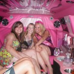 Pink Limo is ours for the night