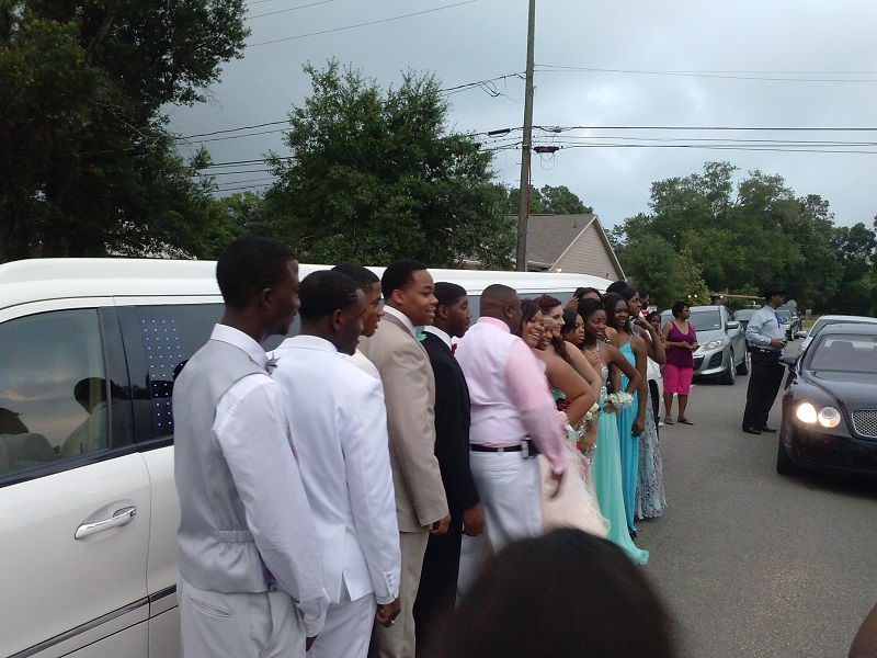 Prom limos are not the same