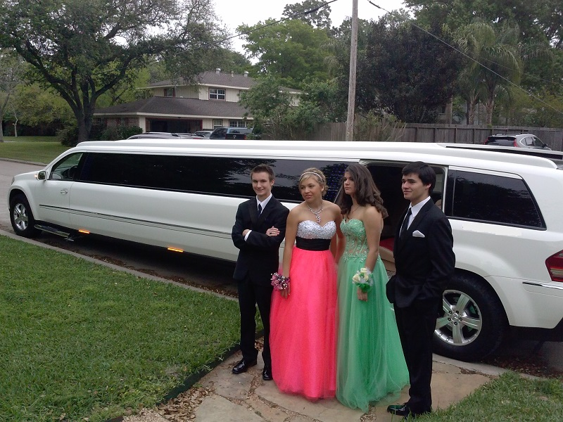 Prom group from Seabrook TX