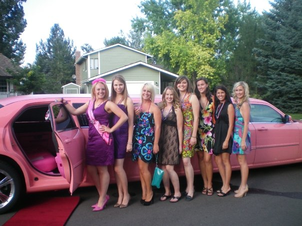 PINK LIMO FOR 21ST BIRTHDAY