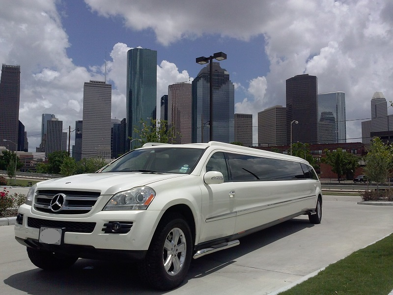 Mercedes 20 passenger mercedes limo houston down town 4 for Mercedes benz service houston