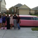 It is a best surprice to have a pink limo for my birthday