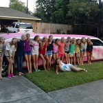 Such a cool Idea rent a Pink limo today