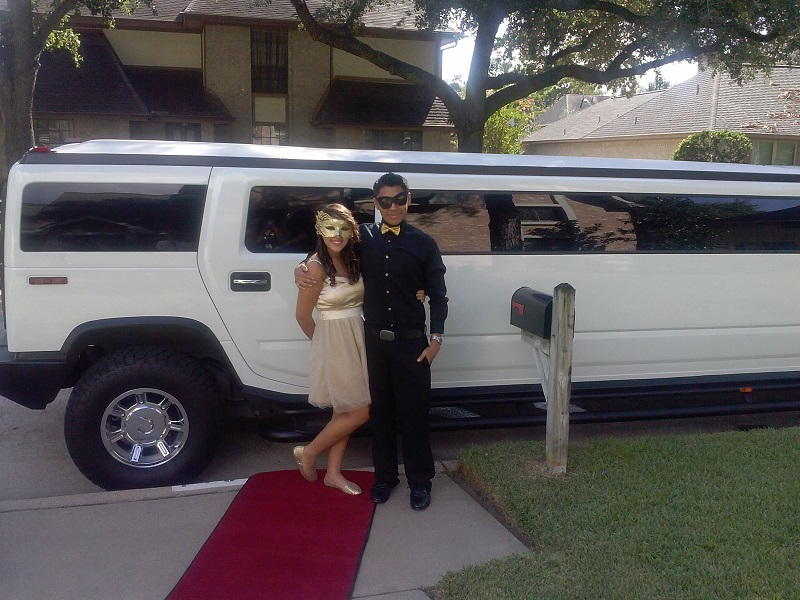 We rented a Hummer Limo