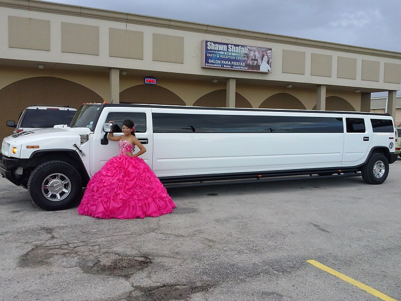 It is fun to ride in a limo