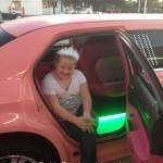 pink limo rental
