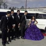 Quinceanera party in mercedes Limo sound good