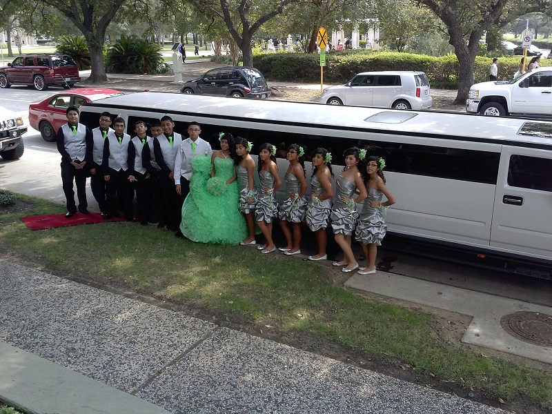 Limo Houston, Prom, Wedding, Quinceanera Limousines