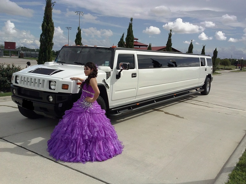 My hummer limo was full of refreshment drinks
