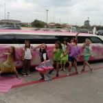 You will get pink carpet with the pink limo