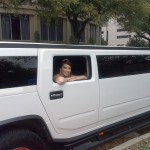 Hummer limo for sweet 16
