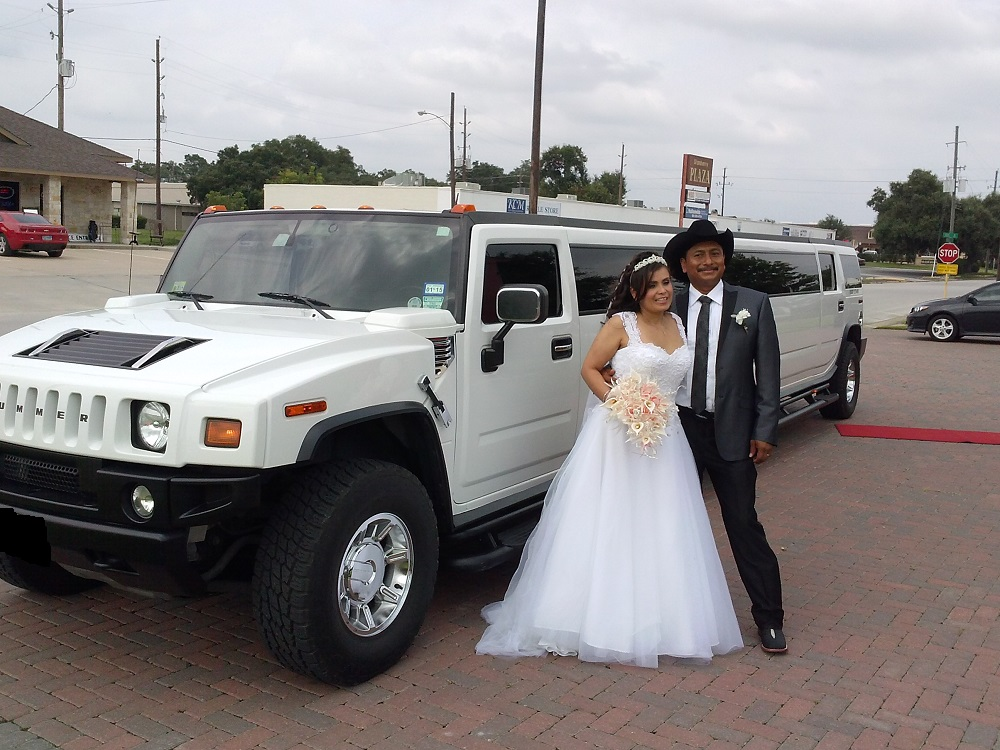 Hummer H2 for your wedding