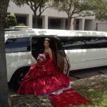 To ride in Mercedes Limo for your quinceanera is upscale