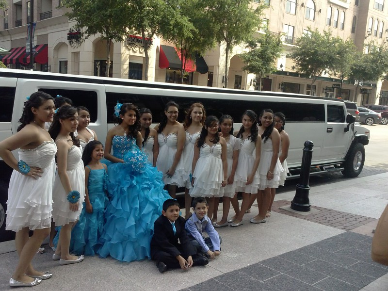 limo rent for quinceanera