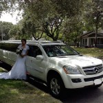 MERCEDES LIMO FOR WEDDING