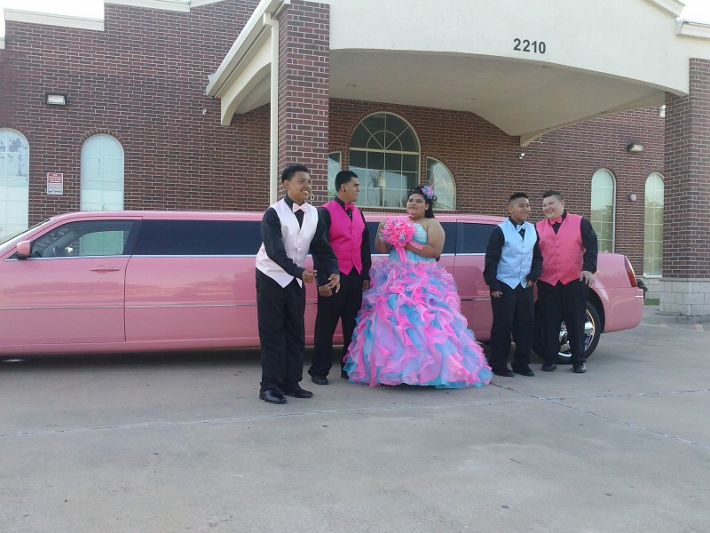 pink limo