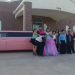 Pink Limo for quinceanera
