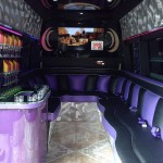 Limo Bus Space and comfort