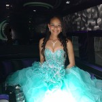 this is my Party Bus for my Quinceanera
