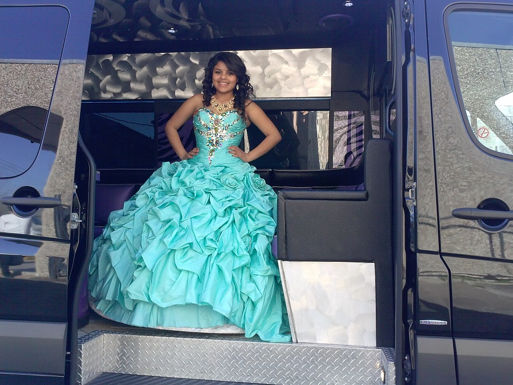 QUINCEANERAS IN THE PARTY BUS (6)
