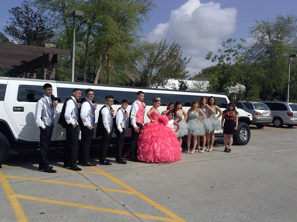 H2 Hummer for Quinceanera