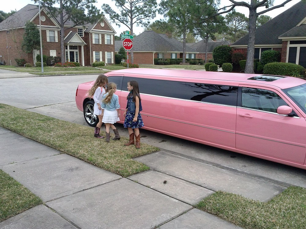 YES IT IS PINK LIMO