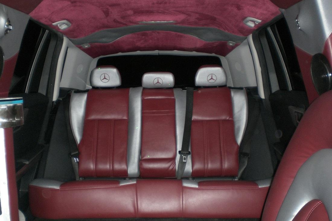 Mercedes Benz GLK 350 14 passenger